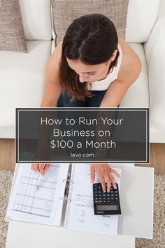 Have $100? You can run a business www.levo.com