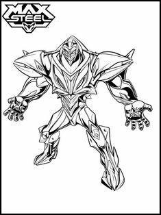 max steel printable coloring pages | 27 Best Max Steel Printables images | Max steel, Printable ...