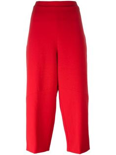 Shop Federica Tosi cropped tapered trousers in Bonvicini from the world's best independent boutiques at farfetch.com. Shop 400 boutiques at one address.