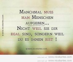 Wie wahr..... ;-(