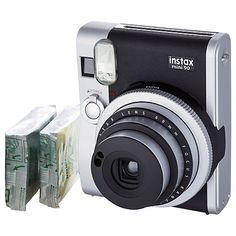 Buy Fujifilm Instax Mini 90 Neo Classic Instant Analogue Camera Online at johnlewis.com