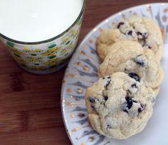 Salted Butter Jumbles with Blueberries Coconut & Chocolate  Mein Blog: Alles rund um Genuss & Geschmack  Kochen Backen Braten Vorspeisen Mains & Desserts!