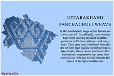 panchachuli from Uttarakhand Indian Textiles, Indian Fabric, Indian Culture And Tradition, Fashion Terminology, Fashion Vocabulary, Indian Folk Art, Indian Crafts, Fabric Journals, Traditional Fabric