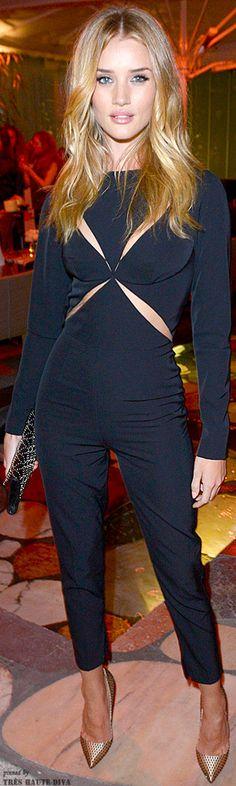 Rosie in a Stella McCarthy jumpsuit