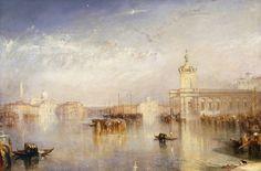 Venise : La Dogana - San Giorgio, par william turner