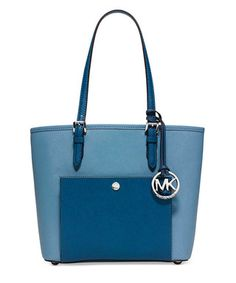 6e6f57702bbd22 Jet Set medium sky blue leather tote Sale - Michael Kors Sale Michael Kors  Sale,