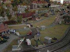 A model railroad at Smoky Mountain Trains