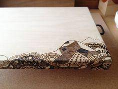 TOMOT Woodburning works by Tomomichi Suzuki, via Behance