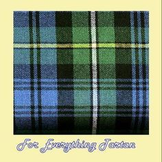 """Ancient Argyll Campbell Clan Tartan Wool Ribbon -1"""" X 54"""" Pack of 10 for $95 on Sale"""