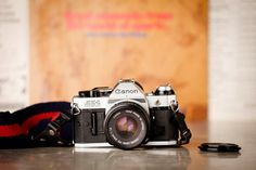 Canon AE1 Program 35mm Vintage Camera Outfit  3 by AnElephantsEye, $80.00