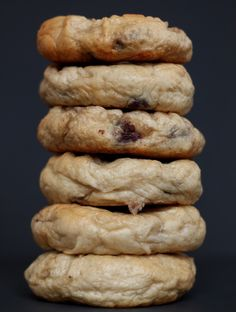 Chocolate Chip Bagels | Youngbrokeandhungry.com