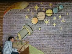 Art of Apex High School: Interactive Street Art Chalk Murals