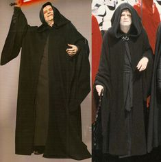 Emperor Palpatine / Darth Sidious' Robes The tunic Darth Sidious / Emperor Palpatine, the way he appears in the prequel trilogy (left) as well as in the original trilogy (right) As you can pr…
