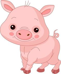 animated clip art free cartoon pig clip art cute pig shady rh pinterest com piglet clipart images piglet clipart black and white