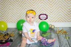 Personalized Boutique Baby My First Mardi by Fairytalestitchesbou