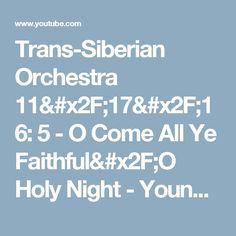 Mannheim Steamroller & Trans Siberian Orchestra - A YouTube ...