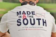 made in the south, that's me, born, raised & will probably die in the SOUTH.