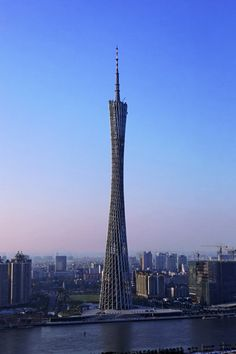 Canton Tower, Guangzhou - China's tallest building. Home Elevator Malaysia. http://elevatormalaysia.blogspot.com