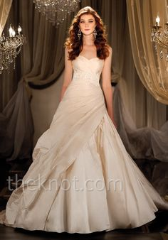 Check out this #weddingdress: 412 by Martina Liana via iPhone #TheKnotLB from #TheKnot