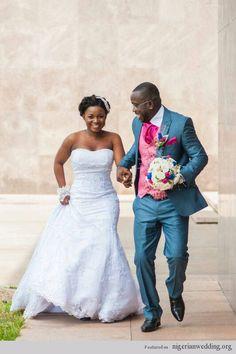 Adwoa and Okotokata Nigerian wedding