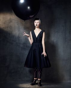 Kamila Filipcikova by Damian Foxe for How to Spend It Magazine December 2013
