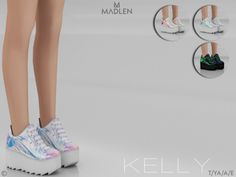 Kelly Shoes for The Sims 4