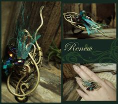 Mixed Media Collage Jewelry | Email This BlogThis! Share to Twitter Share to Facebook