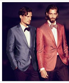 Brioni | Iridescent sea blue dinner jacket, Iridescent tropical rose evening jacket