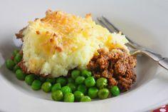 St. Patrick's Day inspired shepherd's pie #recipe
