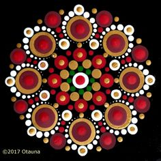 Approximate finished sizes: x with set of 7 dotting tools x with set of 8 dotting tools Inspired by the colours of Kwanza, Christmas, and Hanukkah Dot for Charities participants may apply their promo code Published date: October 2017 Mandala Art, Mandala Painting, Flower Mandala, Mandala Pattern, Mandala Design, Dot Art Painting, Pebble Painting, Pebble Art, Stone Painting
