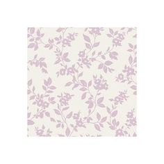 Colours Mayflower Lilac & White Floral Mica Effect Wallpaper   Departments   DIY at B&Q