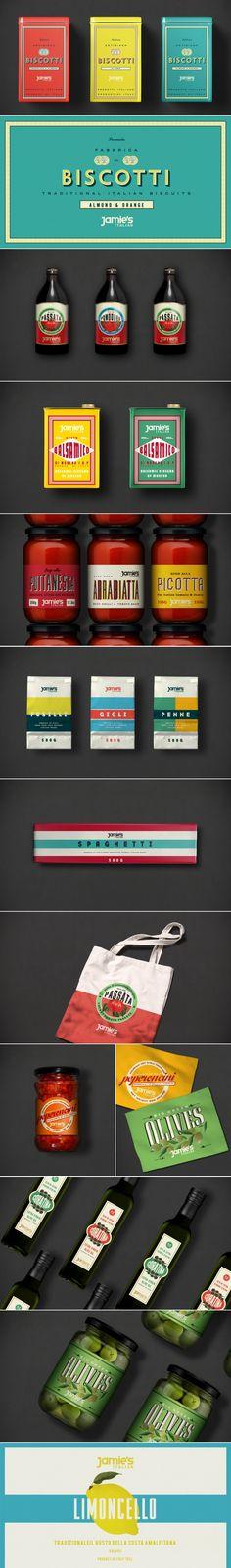 Jamie's Italian Deli Range — The Dieline   Packaging & Branding Design & Innovation News