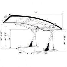4 Unique Tips and Tricks: Steel Canopy garden canopy fabric.Wedding Canopy Inspiration canopy tent over bed. Backyard Canopy, Garden Canopy, Canopy Outdoor, Deck Canopy, Window Canopy, Carport Garage, Pergola Carport, Pergola Kits, Pergola Ideas