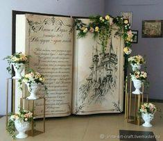 Свадебные аксессуары ручной работы. Ярмарка Мастеров - ручная работа. Купить Фотозона ОГРОМНАЯ КНИГА -декорация 3D. #wedding style#LOVE. Handmade.