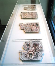 carved magazines by artist Nate Page