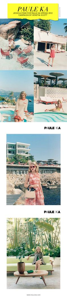 Jessica Stam for Paule Ka Spring 2012 Campaign by Venetia Scott