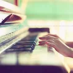 I started learning since I was 5 years old. When I was little, I really don't like to practice playing the piano. My mother used to push me to practice for test. But now, I am enjoying of playing the piano. I spent one hour to play the piano everyday. Sound Of Music, Music Love, Music Is Life, Cd Music, Piano Music, Pub Radio, Bucket List Tumblr, Could Play, Romance Novels