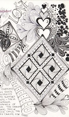 zentangle http://alphabeetangles.blogspot.com/