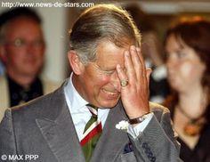 Photo : Le prince Charles en plein fou-rire - News de stars