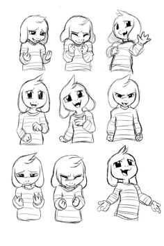 asriel expression sheet undertale spoiler by skeleion coloring pages printable and coloring book to print for free. Find more coloring pages online for kids and adults of asriel expression sheet undertale spoiler by skeleion coloring pages to print. Undertale Comic, Undertale Drawings, Undertale Memes, Expression Sheet, Fan Art, Anime, Drawing Reference, Art Sketches, Nerdy