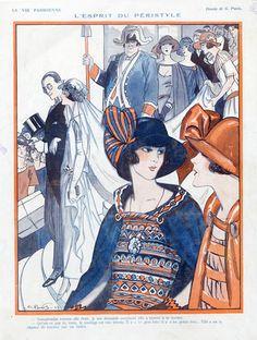 Georges Pavis (1886 – 1977). La Vie Parisienne, 1924. [Pinned 27-xi-2015]