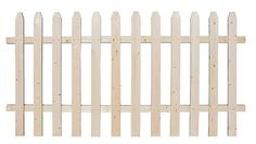4'H x 8'W Spaced Picket Treated Fence Panel    $19.97 total $239.64