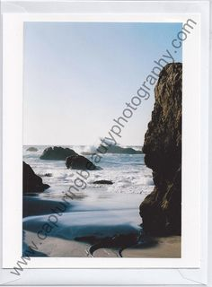 Ocean Greeting Card by CapturingBeautyPhoto on Etsy, $4.00