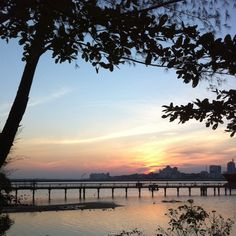 #Woodlands #Waterfront - #sunset #sky #skyline #nature #singapore #sg #jetty #beach #coast #coastline #beautiful #scenary #nofilter #mangrove #jb #johorstraits #johor #iphone4s #guosheng #guoshengz