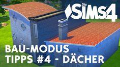 Die Sims 4 Bau-Modus Tipps und Tricks zu den Dächern, wie ihr Räume unter dem Dach baut und was ihr beachteten solltet um schöne Dächer zu bauen. Website: ht...