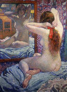 The Scarlet Ribbon / Theo van Rysselberghe 1862-1926