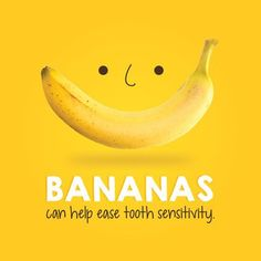 Did you know that adding bananas in your diet can be a great source of oxalic acids which help ease tooth pain and sensitivity?  #dentaltip #smilefocus #healthydiet #toothsensitivity  www.smilefocus.com.sg