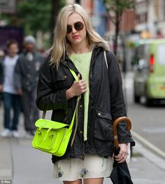 Fearne Cotton.. Cambridge Satchel Co. #brit