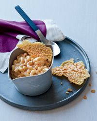 Love the combo of fontina, cheddar and mascarpone in mac and cheese recipe.