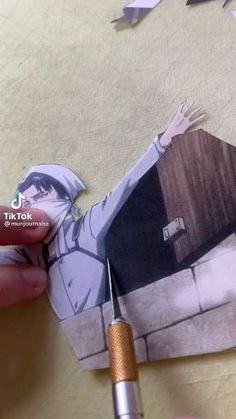 Anime Diys, Anime Crafts, Levi Titan, Attack On Titan Levi, Filles Image Seniors, Otaku Anime, Manga Anime, Kenny Ackerman, Levi Ackerman
